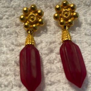 Karl Lagerfeld gorgeous earrings